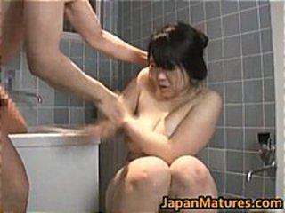 Busty Japanese mature woman part5