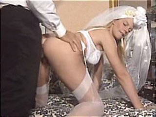 Bride Doggystyle Italian  Stockings