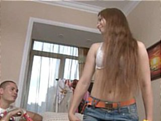 Amateur Amazing German Long hair Teen