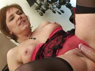 Lingerie Mature Riding Stockings
