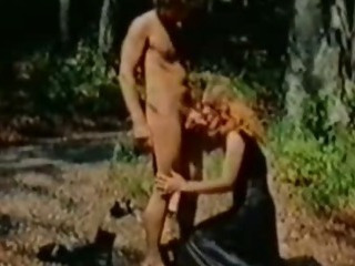 Blowjob  Outdoor Vintage