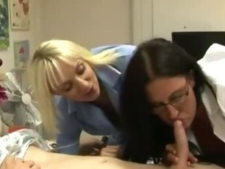 Blowjob  Glasses  Nurse Uniform