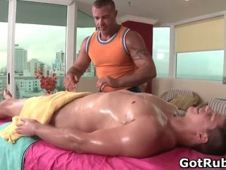 Guy gets best gay massage every