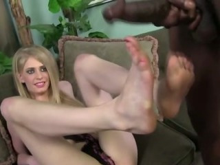 Feet Interracial Panty Skinny Teen