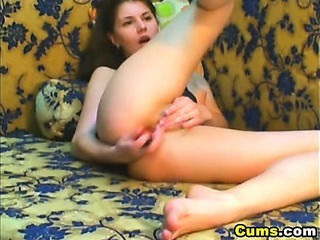 Anal Masturbating Teen Toy Webcam