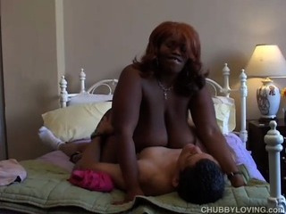 Big Tits Ebony Interracial  Natural