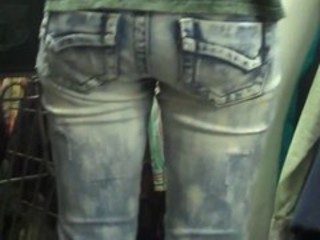 Nice butt in tight ass jeans (the movie)