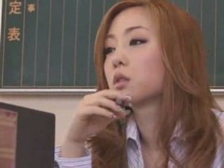 Amazing Asian Cute Japanese  School Teacher