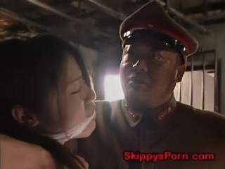 Army Fetish Japanese Slave
