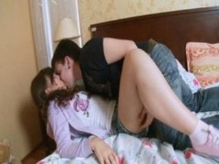 First Time Kissing Teen Virgin