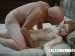 Celeb emily browning nude and skinny laying prone on ...