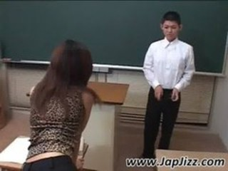 Sperm lover asian teacher fingers a boy's ass