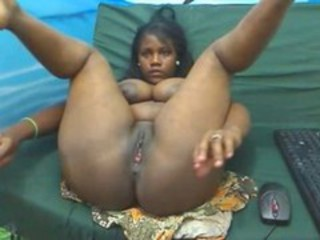 Chubby Ebony Teen Webcam