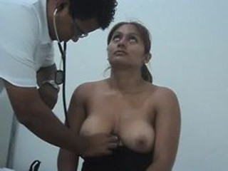 Big Tits Doctor Indian MILF