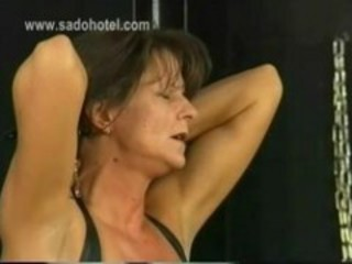 Beautiful Milf Slave Is Spanked And Got...