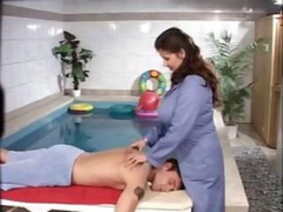 Big Tits Massage  Pool