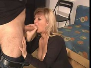Amateur Blowjob European Mature