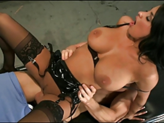 Amazing Big Tits Hardcore  Natural Nurse Pornstar Riding Stockings