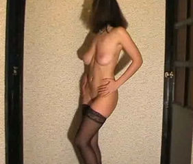 Tamara stripping and masturbating 5