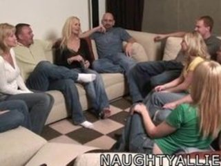 Groupsex  Orgy Swingers Wife