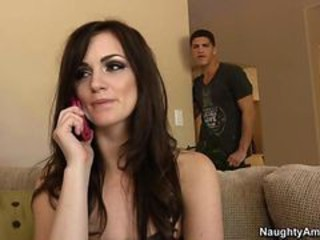 Hot Brunette Fucked Hard