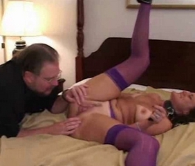 Amateur Cuckold  Pussy Stockings Wife