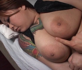 Asian  Big Tits Japanese  Natural Nipples Sleeping Tattoo