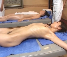 Asian Japanese Massage  Oiled Skinny