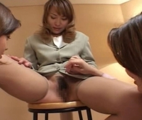 Asian Japanese Lesbian  Stockings