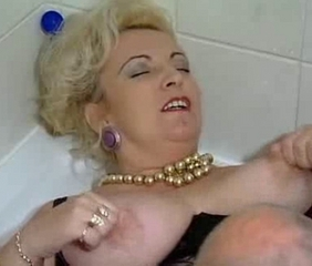 Bathroom European German Mature Nipples
