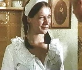 Cute European Italian Maid Teen Uniform Vintage