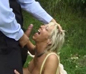 Cumshot European German  Outdoor Swallow