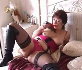 Lingerie Mature Stockings Toy
