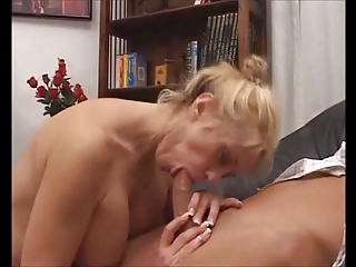 Blowjob European Mom Office