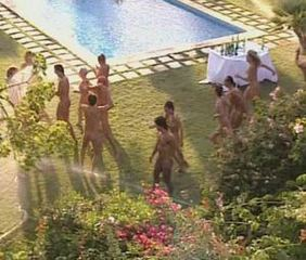 Nudist Party Pool
