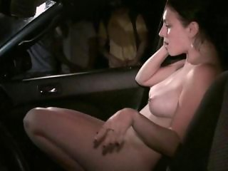 Teen girl in public gangbang thru the car window with anonymous strangers gang bang Part 4 AWESOME