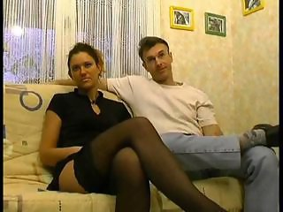 Amateur European French Stockings Wife