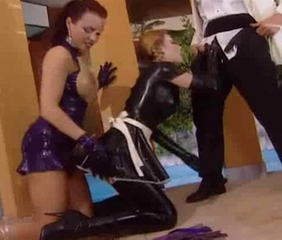 Latex Maid  Threesome Uniform