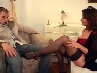 Amazing European German Legs  Mom Old and Young Stockings