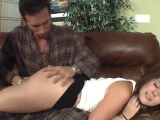 Claire Gets Spanked Plus Punished By Daddy