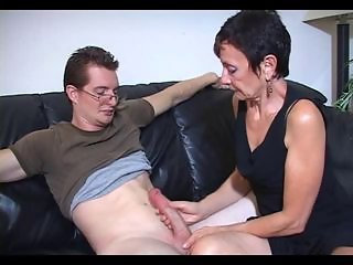 Handjob Mature Mom Old and Young