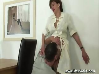 Licking Mature Office