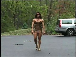 "muscle chick in a tight dress"" target=""_blank"