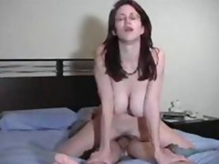 Amateur Big Tits Homemade Natural Riding Wife
