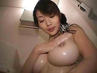Asian Babe Big Tits Cute Japanese Natural Nipples Showers