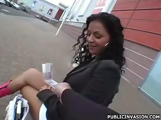 Amateur Cash Latina  Outdoor Pov Public