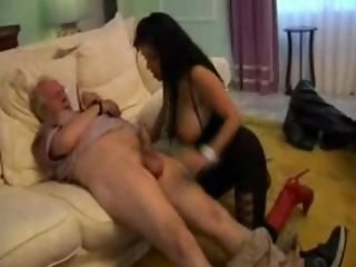 Amazing Big Tits Daddy  Old and Young