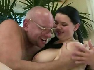 Big Tits Daddy Daughter Natural Old and Young Teen