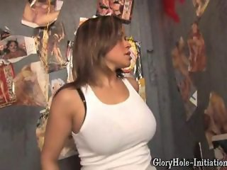Babe Big Tits Ebony Gloryhole Natural