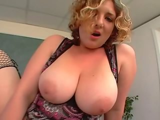 Big Tits Blonde Chubby  Natural School Teacher